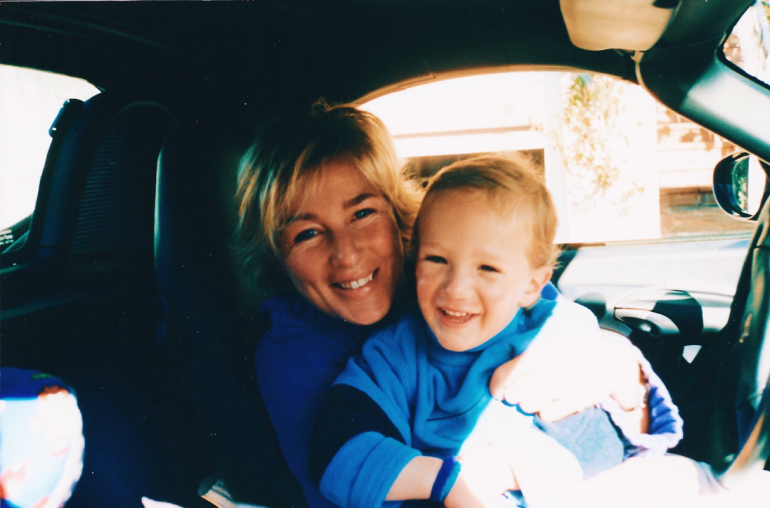 My mother and I, 2003