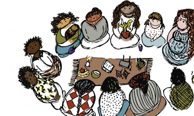 An illustrated journey of women in community networks