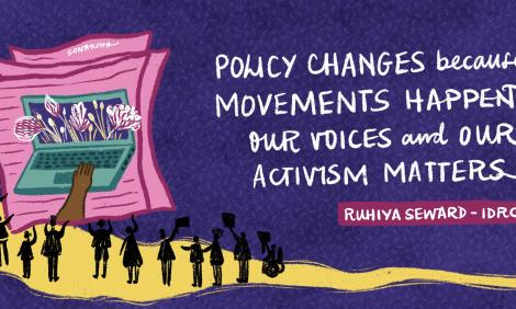 Policy changes because movements happen. Our voices and our activism matter.