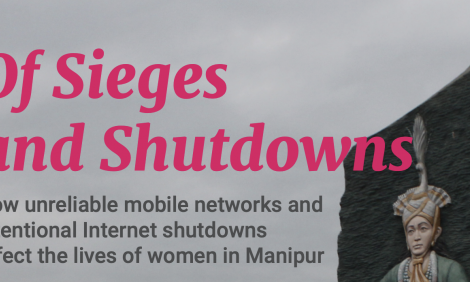 Cover of report On sieges and shutdowns
