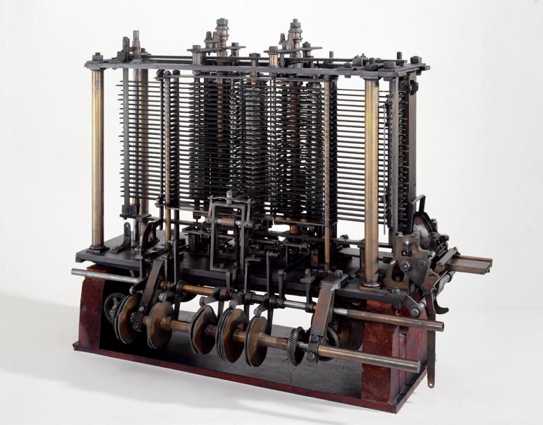Babbages Analytical Engine, 1834-1871.