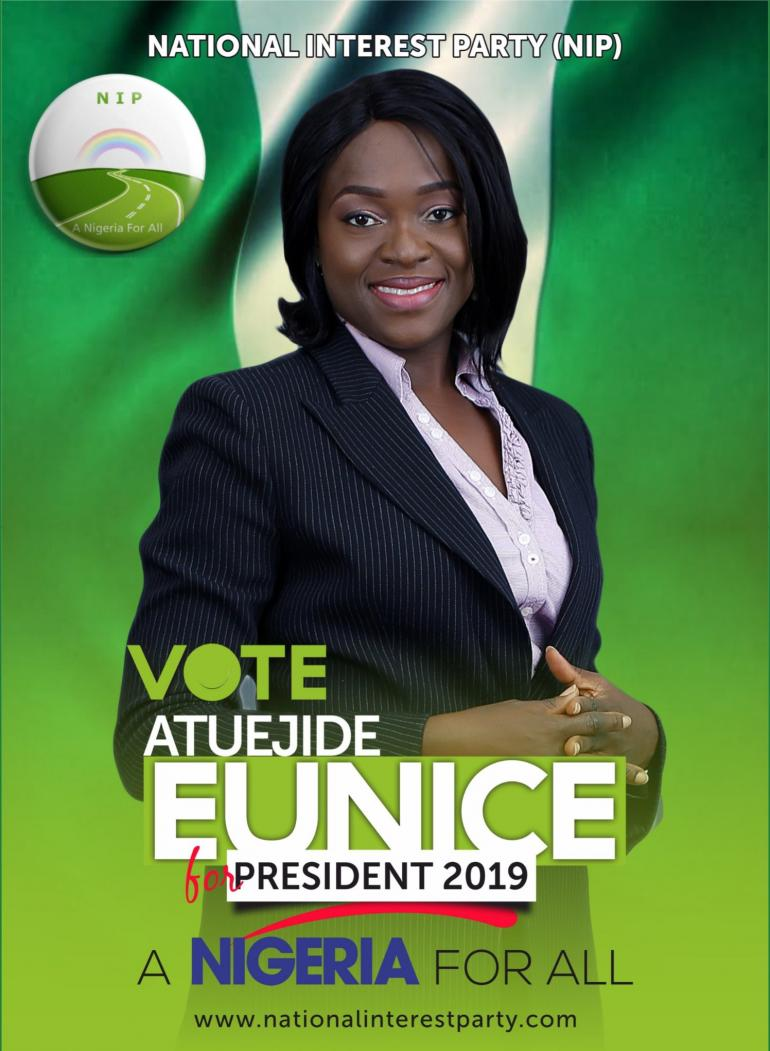 Poster for Eunice Atuejide
