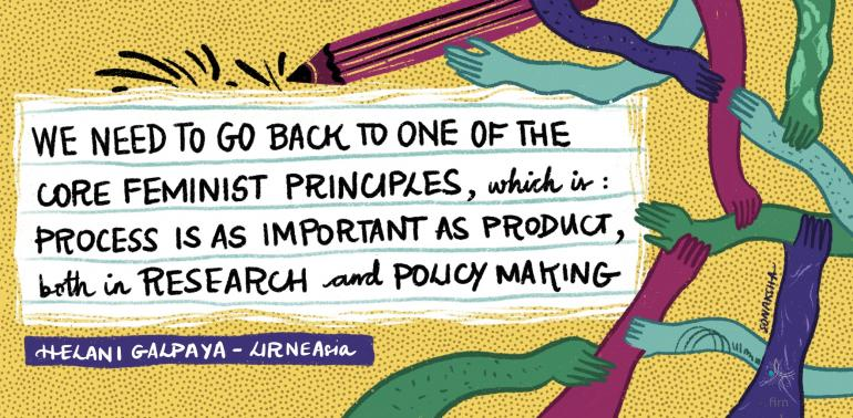 process is as important as product, both in research and policy making